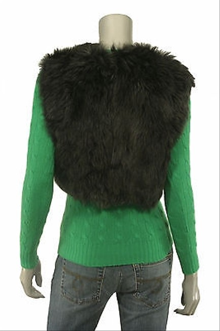Ralph Lauren Black Label Shearling Fur Jacket Vest