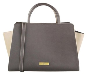 Zac Posen Tote in Black and Taupe