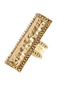 House of Harlow 1960 House of Harlow 1960 Helicon Studded Bar Ring 5.5