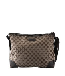 Gucci Canvas Cross Body Bag