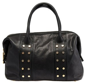 Tory Burch Tory Military Studded Leather Satchel in Burch