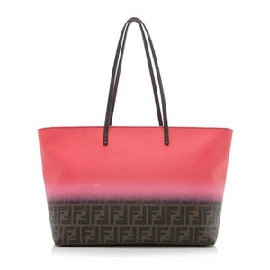 Fendi Zucca Ombre Neverfull Chanel Tote in Pink