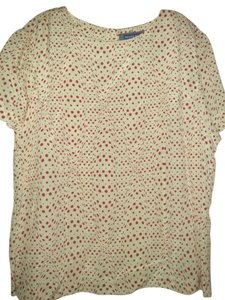 Austin Reed Top White red