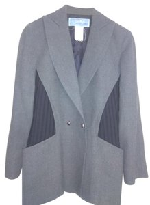 Thierry Mugler Grey black Blazer