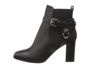 Ralph Lauren Collection Meadow Leather Black Boots