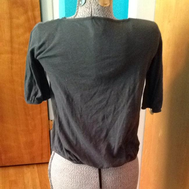 Mossimo Supply Co. Cotton Polyester T Shirt Gray