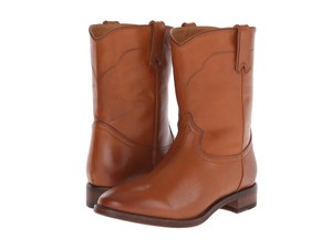 Ralph Lauren Collection Marlow Tan Boots