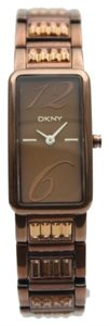 DKNY DKNY Female Dress Watch NY4203 Brown Analog