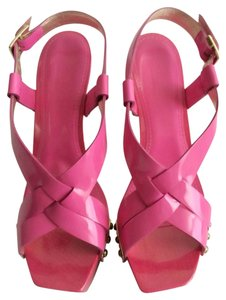 Versace Hot Pink Platforms