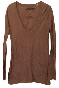 Threads 4 Thought T Shirt brown