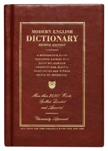 Kate Spade Dictionary Wordsmith Book Brown Clutch