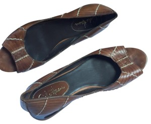 Cole Haan Brown Leather Flats