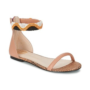 House of Harlow 1960 Summer Ankle Strap Dusty Pink Sandals