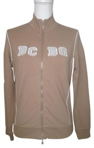 BCBGMAXAZRIA Long Sleeve Zip Front Cotton Active Jacket