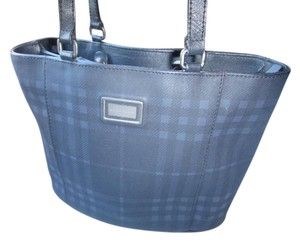 Burberry Tote in Dark Navy Blue