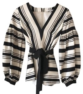 Alexis Couture Top Black and White