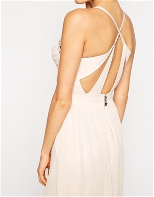 Lipsy Studded Prom Evening Strappy Cocktail Party Maxi Backless Midi Dress
