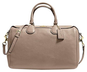 Coach Satchel in Stone