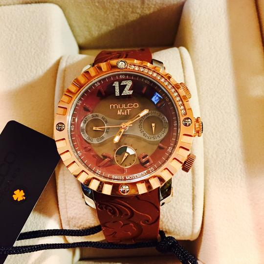 Mulco Gold Mw5 Nuit Brown 033 Watch Retail 66Off 1622 ZuOPikXT