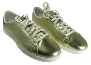 Cole Haan metallic gold Athletic