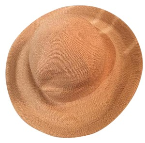 Patricia Underwood Natural Color with Flex of Gold Open Woven Sun Hat