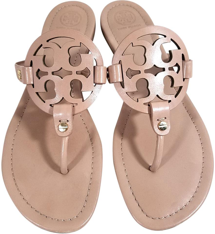 48e5cc8976d57e Tory Burch Flip Flops Bold Logo Cutout S N 21168647 Made In Brazil Makeup  Leather ...