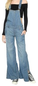 Free People Tencil Content O-ring Back Vintage Look Trouser/Wide Leg Jeans