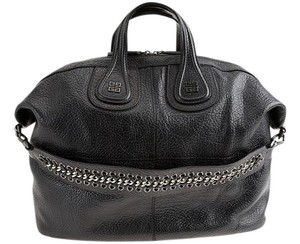 Givenchy Pebbled Leather Nightingale Chain Shoulder Bag