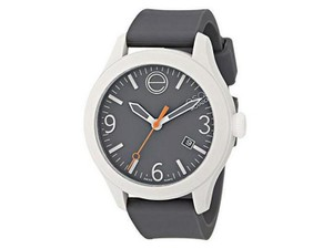 ESQ ESQ07301455 Unisex Grey Silicone Bracelet With Grey Analog Dial Watch