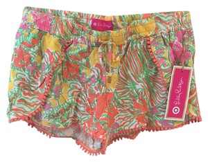 Lilly Pulitzer for Target Mini/Short Shorts Happy Place Print