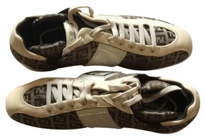 Fendi Beige and light brown Athletic