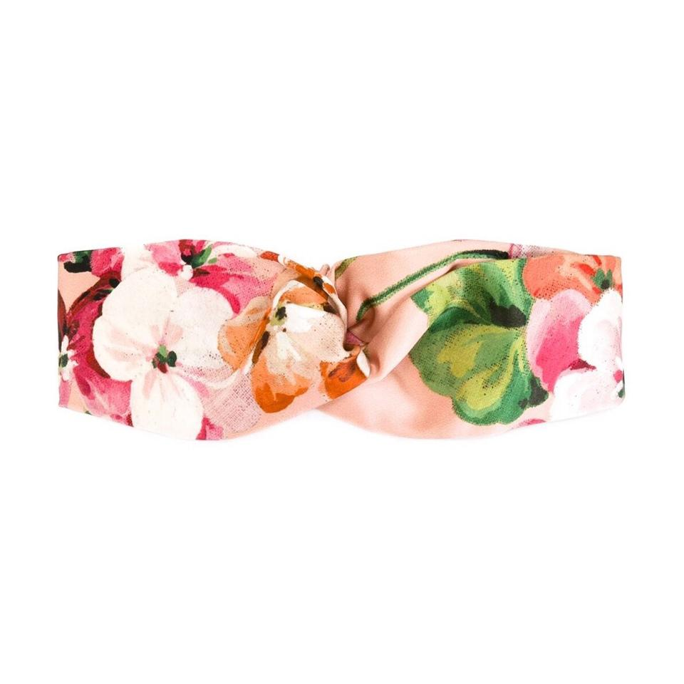 1a0541c66be Gucci Pink Blooms Floral Headband Hair Accessory - Tradesy