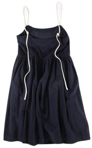Creatures of Comfort short dress Navy Blue on Tradesy
