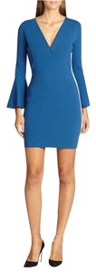 Emilio Pucci Wool Knit Bell Cuff Dress