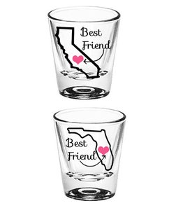 Best Friend Shot Glasses
