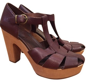 Madewell Platform Chunky Brown Sandals