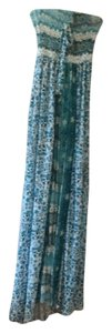 Teal Maxi Dress by Letarte Swimwear