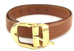 Louis Vuitton Louis Vuitton Tan Epi Belt