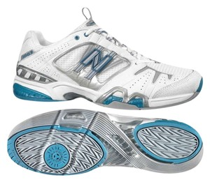 New Balance White, gray, blue Athletic