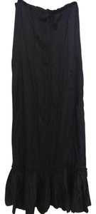 Twelfth St. by Cynthia Vincent Maxi Skirt Navy Blue