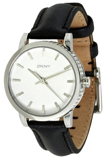 Preload https://item5.tradesy.com/images/dkny-black-female-dress-ny8305-white-analog-watch-2167959-0-0.jpg?width=440&height=440