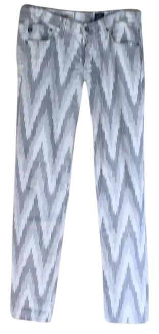Item - Multi Hues Of Grey and White Rn # 104857 Skinny Jeans Size 28 (4, S)