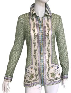 Tory Burch Top cream with print