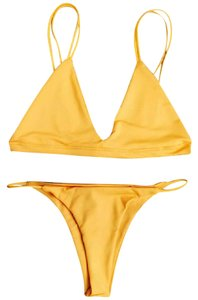 Zaful Cute yellow bikini