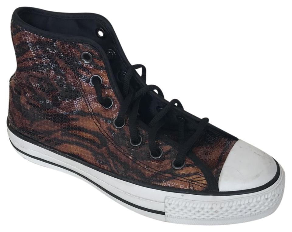 ddcc0f92c842d4 Converse Chuck Taylor Animal Print High - Tops Sneakers Size US 7.5 ...