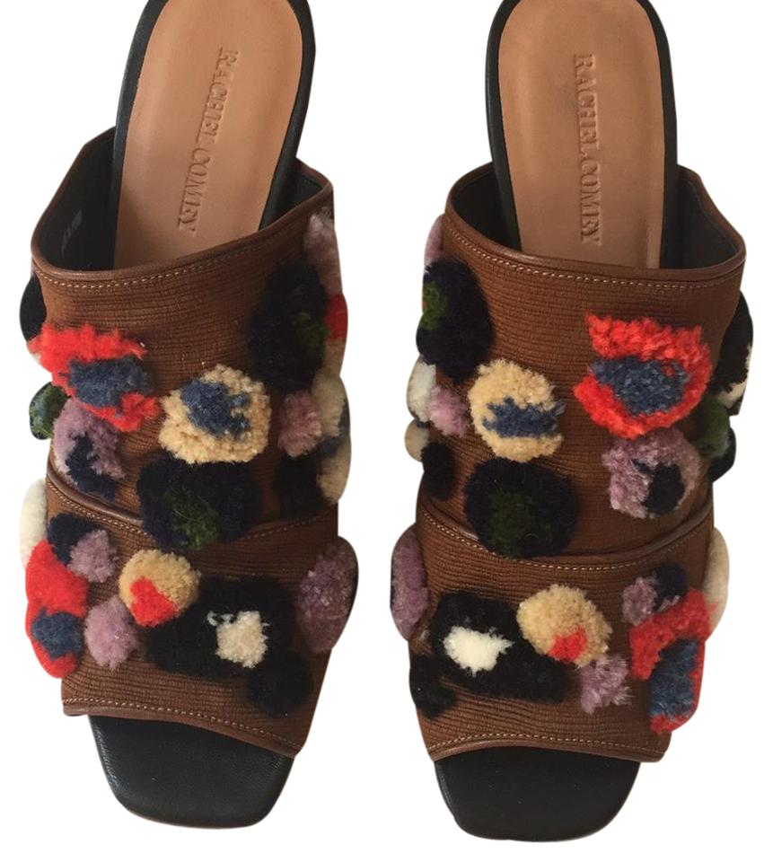 womens Anthropologie Mules/Slides Brown Mules/Slides Anthropologie Online export business a6bfb7