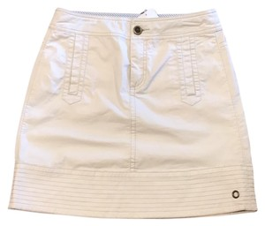 Hei Hei Mini Skirt White
