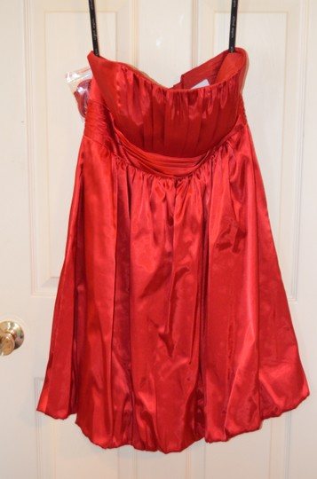 Alfred Angelo Crimson Polyester 7136 Sexy Dress Size 10 (M)