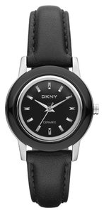 DKNY DKNY Female Ceramic Watch NY8639 Black Analog