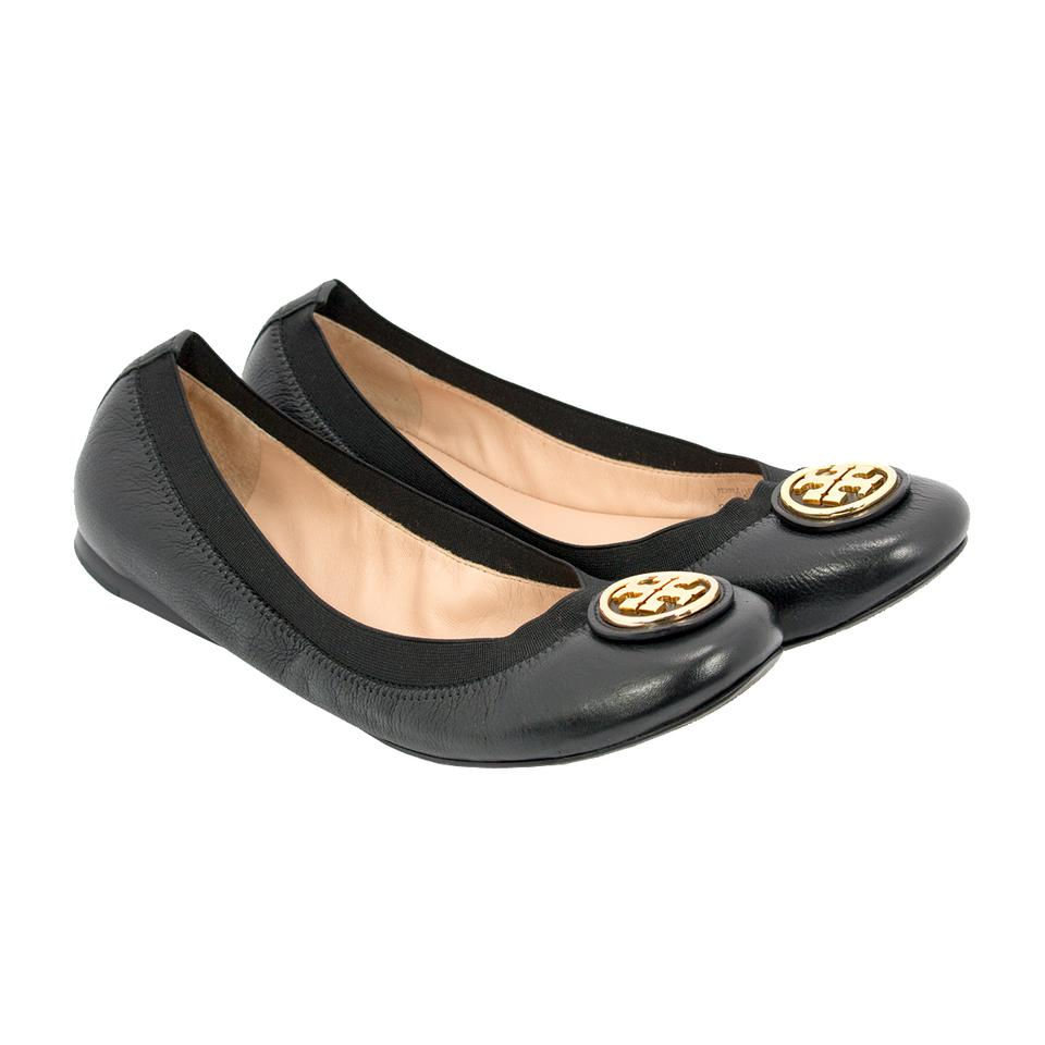 919a060d0272 Tory Burch Black Caroline 2 - Nellie Nappa Veg Leather Elastic ...